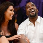 Kim & Kanye Celebrate Thanksgiving