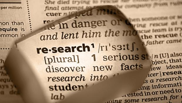 research your job