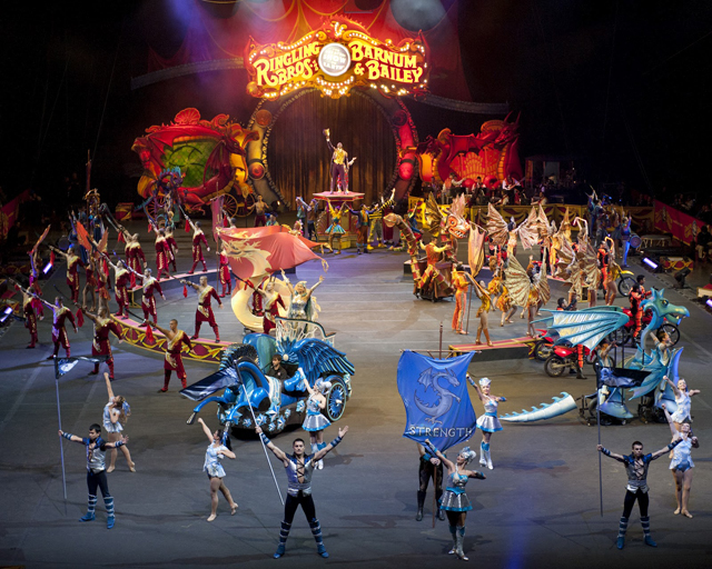 Ringling Brothers Barnum and Bailey - Mademoiselle Octavia