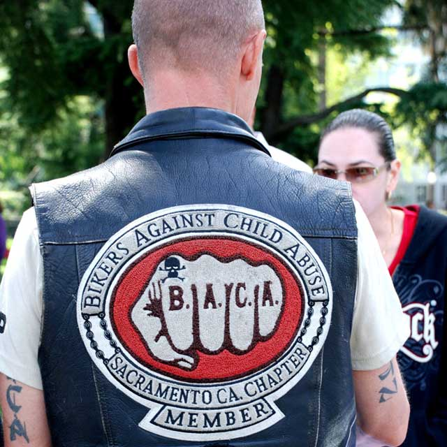 Amazing Com: Never Judge A Book By Its Cover: Bikers Against Child