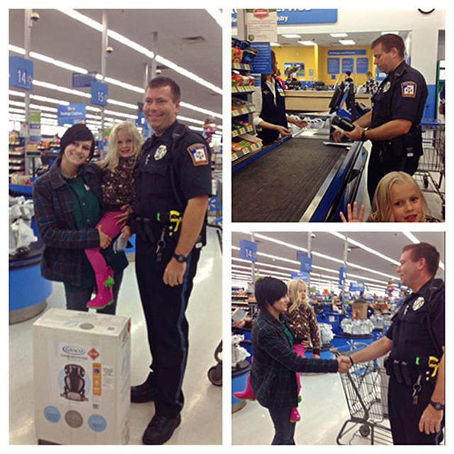 Michigan Cop Buys Car Seat for Mom