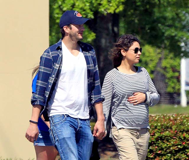 Mila Kunis And Ashton Kutchers Love Story From First Kiss To First