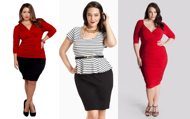 Hourglass Plus Size Women