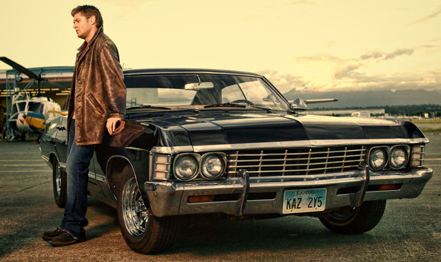 Dean-Winchester-with-Chevrolet-Impala-1967-Supernatural