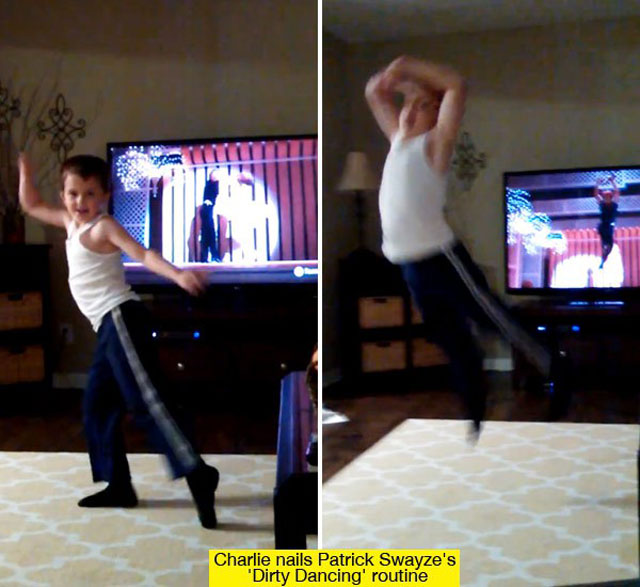 Charlie Nails Patrick Swayze's Routine in