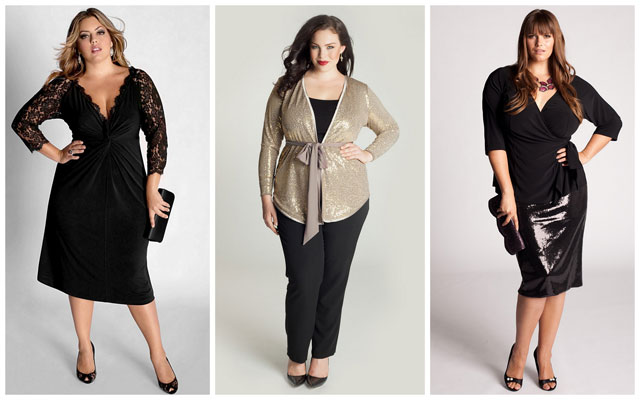Diamond-Body-Shape Plus Size Women
