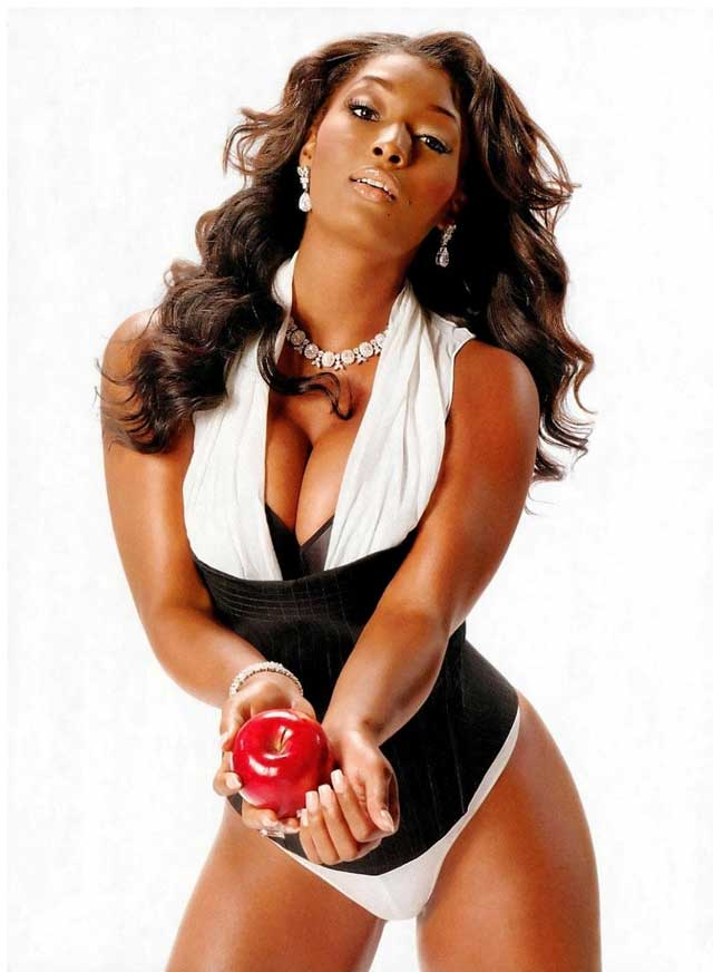 Plus Size Model Toccara Jones
