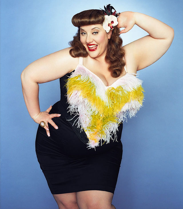 Plus Size Model Velvet d'Amour