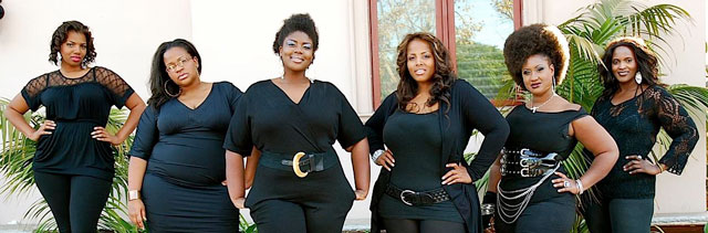 plus-size-models how to dress