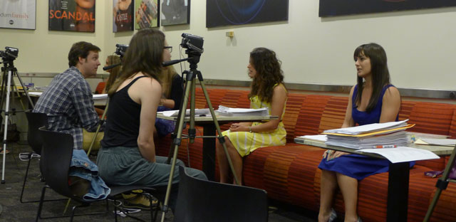 Auditioning-In-Front-of-Cameras casting