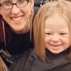 Three-Year Old Adriana Smith Gets First Haircut for Charity