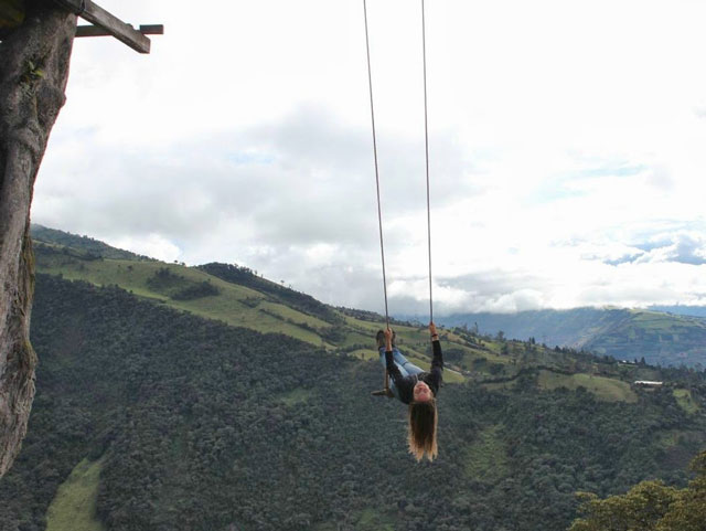The Swing At The End Of The World Will Make Your Heart