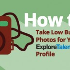 How to Take Low Budget Photos for Your ExploreTalent Profile