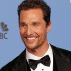 "Matthew McConaughey Lives Up to His Motto ""Just Keep Living"""