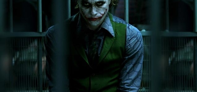 Heath Ledger is The Joker
