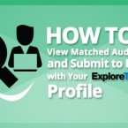 How to View Matched Auditions and Submit to Roles with Your ExploreTalent Profile