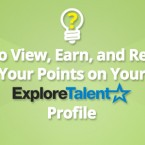 How to View, Earn, and Redeem Your Points on Your ExploreTalent Profile