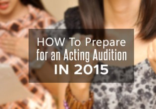 Acting Audition in 2015