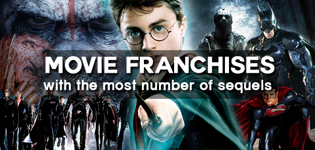 movie franchises with the most number of sequels explore