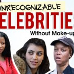 Shocking Before and After Celebrity Make-Up Photos