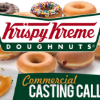 Krispy Kreme Now Casting Various Talents for Photoshoot