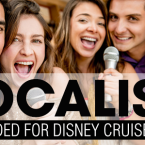 Disney Cruise Line Now Casting Vocalists