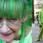 Meet 'The Green Lady' Who Has Worn Only Green for the Past 20 Years