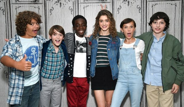 Cast of Stranger Things