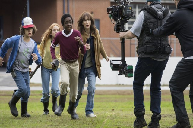 Stranger Things Shooting