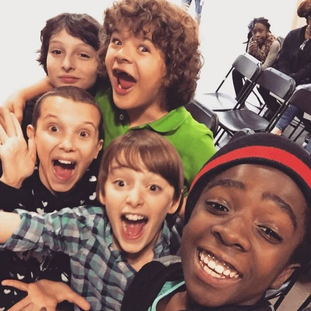 Stranger Things Season 1 Behind The Scenes