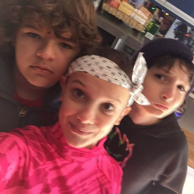 Adorable Pictures Of The Stranger Things Cast